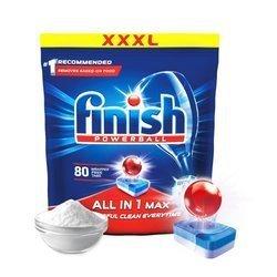 Finish Allin1 Max Tabletki do zmywarki SODA 80szt.
