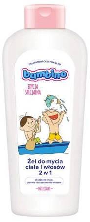 BAMBINO Dzieciaki Żel do mycia ciała i włosów Na łódce 400ml