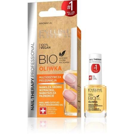Eveline Nail Therapy Bio Oliwka multiodżywcza do paznokci/skórek 12ml