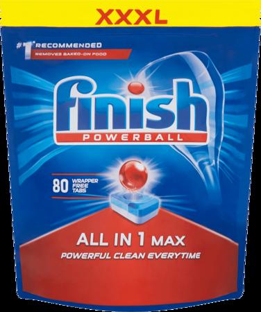 Finish Allin1 Max Tabletki do zmywarki REGULAR 80szt.