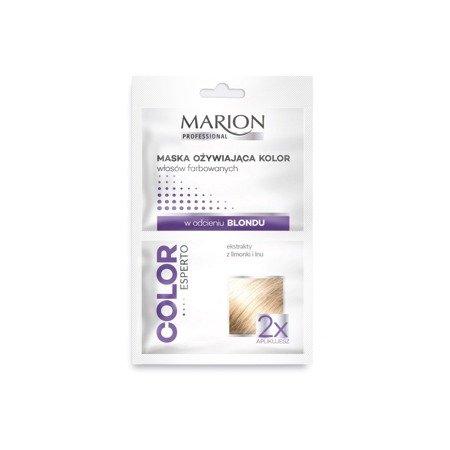 Marion Maska ożywiająca włosy farbowane blond