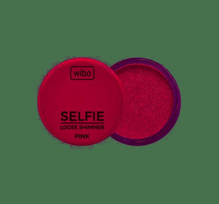 Wibo Rozświetlacz Selfie Loose Shimmer PINK
